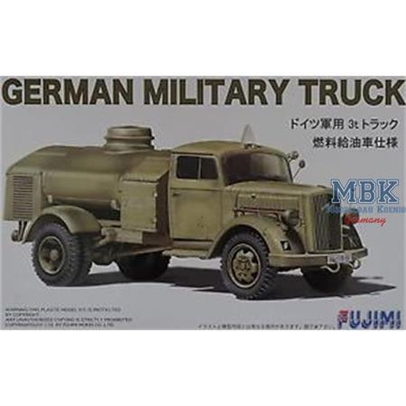 German Military Truck Opel Blitz Kraftstoff 1/72