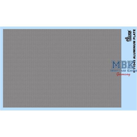 Aluminum Plate Decal
