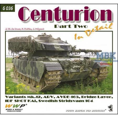 """Green Line 36 """"Centurion in detail part 2"""""""
