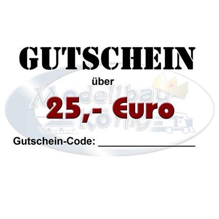 Gutschein / Voucher 25 Euro