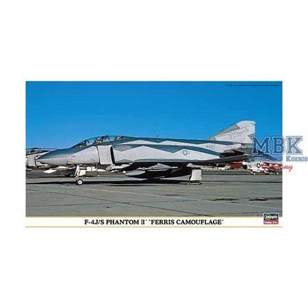"F-4J/S Phantom II \""Ferris Camouflage\"""