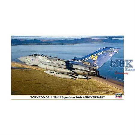 "Tornado Gr.4 \""No.14 Squadron 90th Anniversary\"""