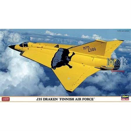 """J-35 Draken """"Finish Air Force"""", 2 Bausätze"""