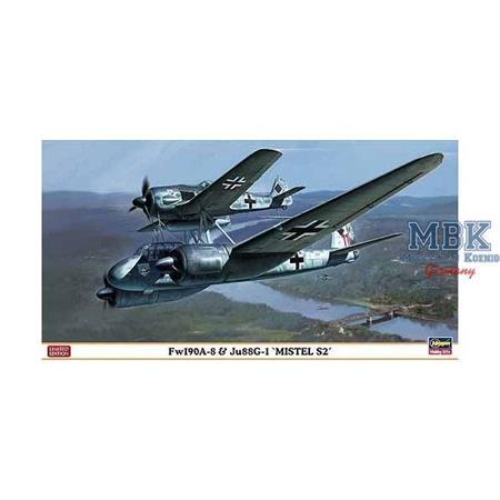 """Fw-190A-8 & Ju-88G1 """"Mistle S2"""""""