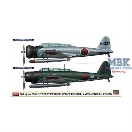 Nakajima B5N1/2 Type 97 Combo