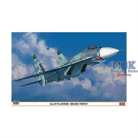 """Su-27 Flanker """"Sharkteeth"""""""