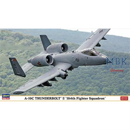 A10C Thunderbolt II 104th Fighter - LIMITIERT-1/72