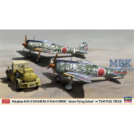 Nakajima Ki43II Hayabusa + Ki44II 1/72 -Limitiert-