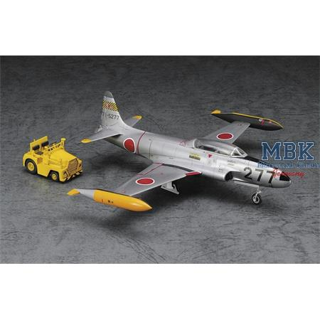 T33A Shooting Star mit Schlepper / with Cart