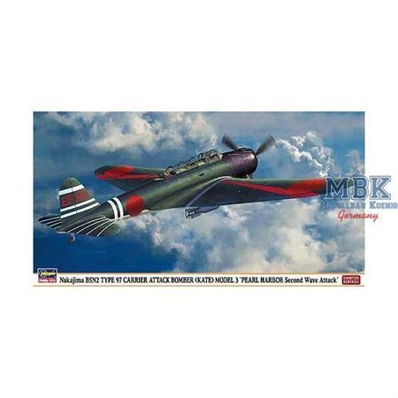 NAKAJIMA B5N2 TYPE 97 CARRIER ATTACK-BOMBER (KATE)