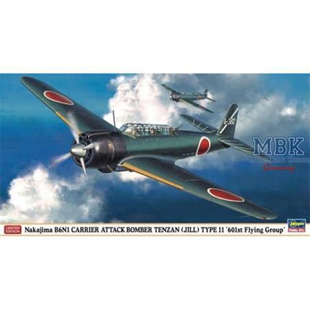 Nakajima B6N1 Tenzan '601st Flying Group'