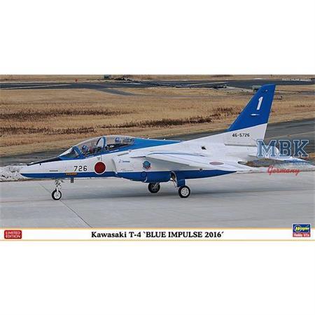 Kawasaki T4, Blue Impulse 2016  -Limited-   1/48