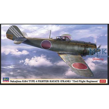 Nakajima Ki84 Type 4 Frank 73rd Flight Regiment