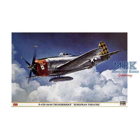 "P-47D-30/40 Thunderbolt \""European Theater\"""