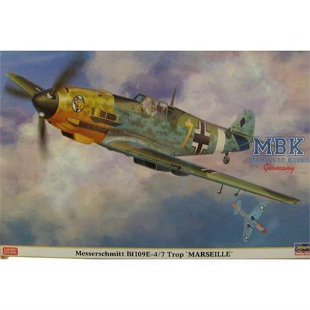 """Me Bf109 E4/7 Trop """"Marseille"""""""