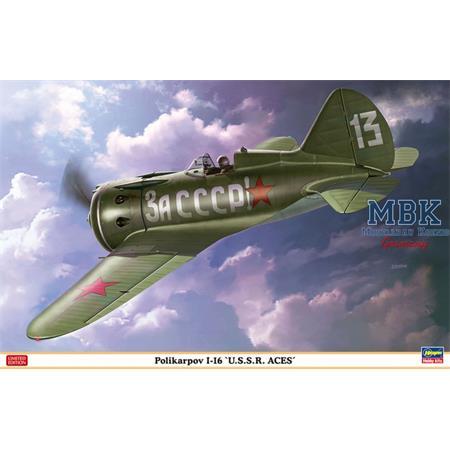 Polikarpov I-16 USSR Aces