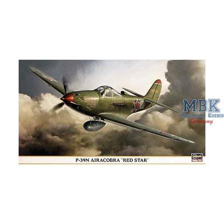 "P-39N Airacobra \""Red Star\"""