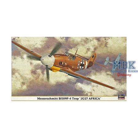"""Messerschmitt Bf109F-4 Trop \""""JG27 Africa\"""""""