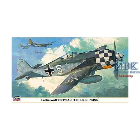 "Focke Wulf Fw190A-6 ""Checker Nose\"""