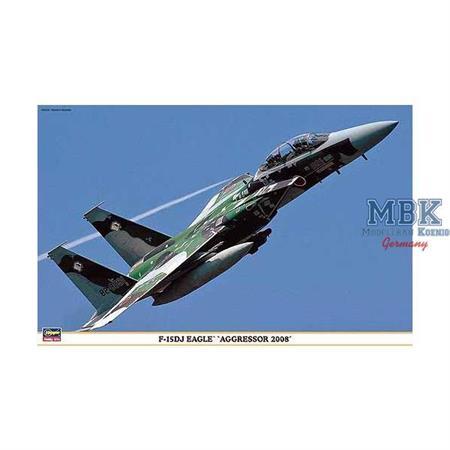 "F-15DJ Eagle \""Aggressor 2008\"""