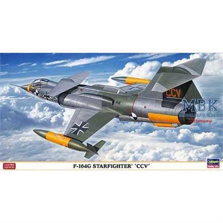 """F-104G Starfighter """"CCV-Control Configured Vehic"""""""