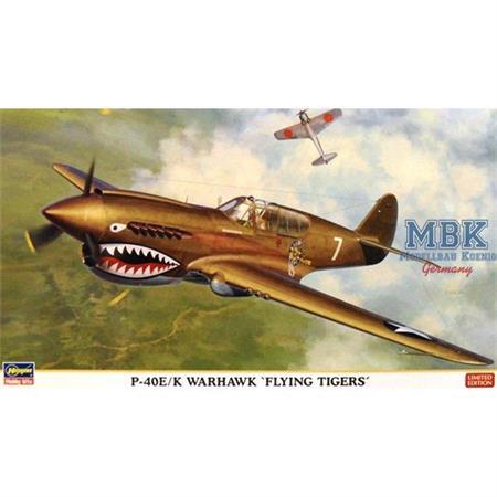 "P-40E/K Warhawk ""Flying Tigers"""