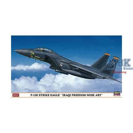 """F-15E Strike Eagle """"Iraqi Freedom Nose Art"""""""