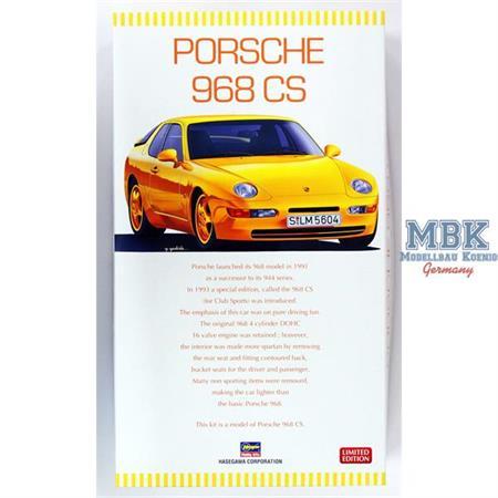 Porsche 968 CS  1/24