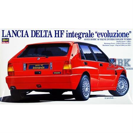 Lancia Delta HF Integrale Evoluzion 1:24 (CD-9)