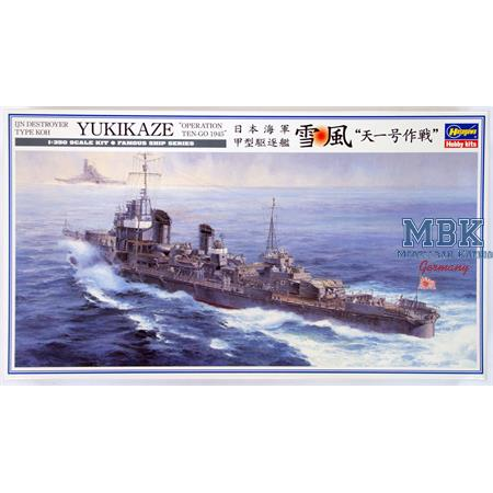"""IJN Destroyer Type Koh Yukikaze """"Op. Ten-Go 1945"""""""
