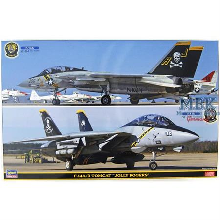 F14A/ B Tomcat Jolly Rogers 2 Kits   1/72  (SP346)
