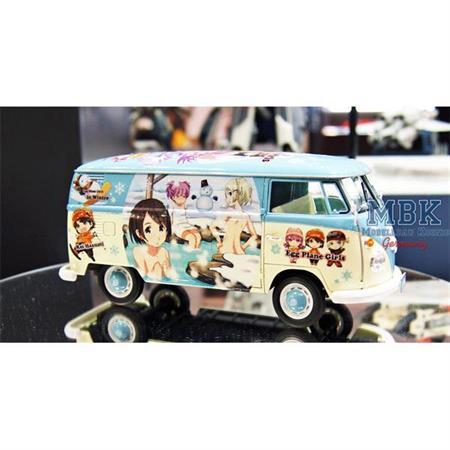 "VW Typ 2 Lieferwagen""Bulli"" Egg Girls Winter Paint"