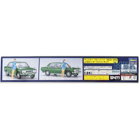 Datsun Bluebird 1600 SSS inkl. Figur 60s   SP477