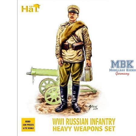 Russische schwere Infanterie WK I.