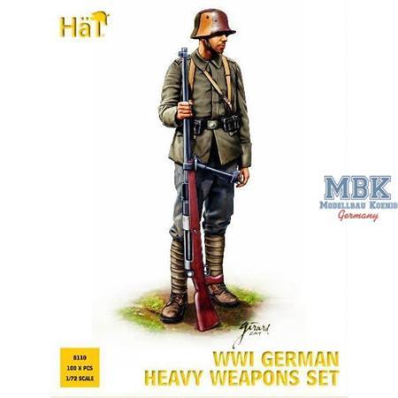 WWI German heavy weapons