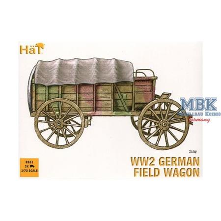 WWII German Field Wagon