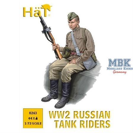 Russian Tank Riders WW II