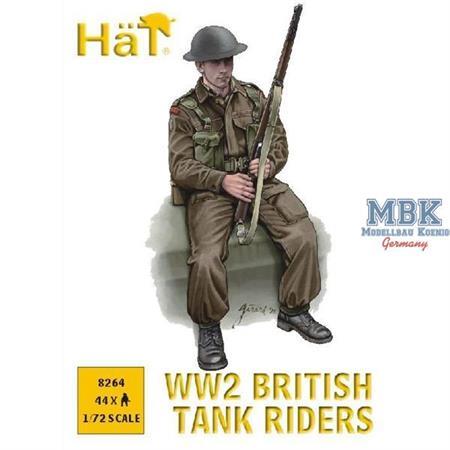 British Tank Riders WW II