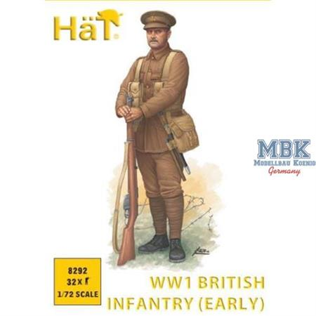 WWI British Infantry early