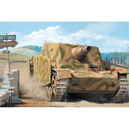 SturmpanzerIV Brummbär mit Interior