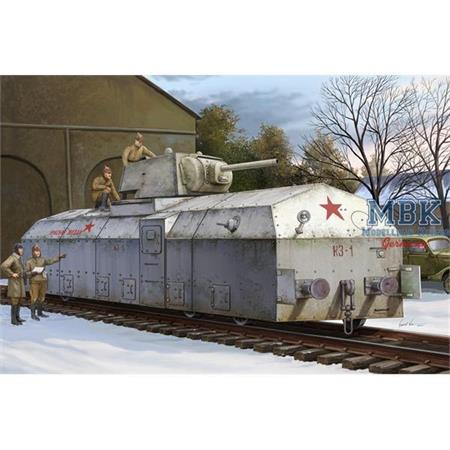 Sov. Armoured Train