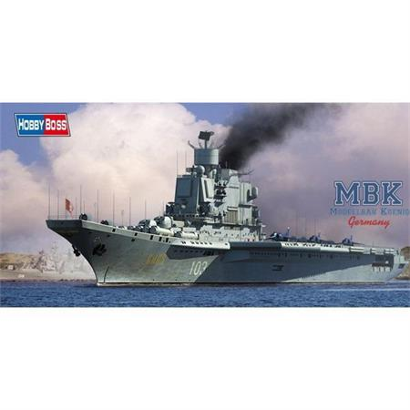 Soviet Aircraft Carrier Baku