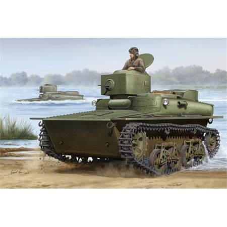 Soviet T-37 amphibous light tank