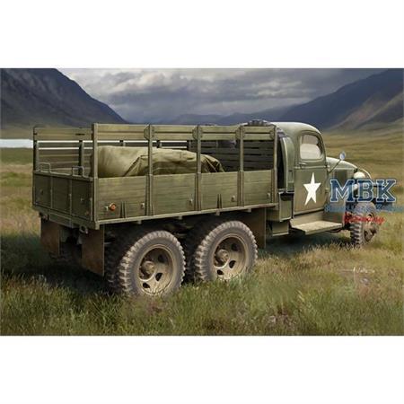 US GMC CCKW-352 Wood Cargo Truck