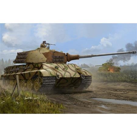 Tiger II (Henschel turret) Juli 1945 production