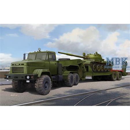 Ukraine KrAZ-6446 w/ MAZ/ChMZAP-5247G semitrailer