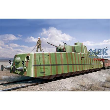 Soviet Armored Train MBV-2 (F-34 gun)