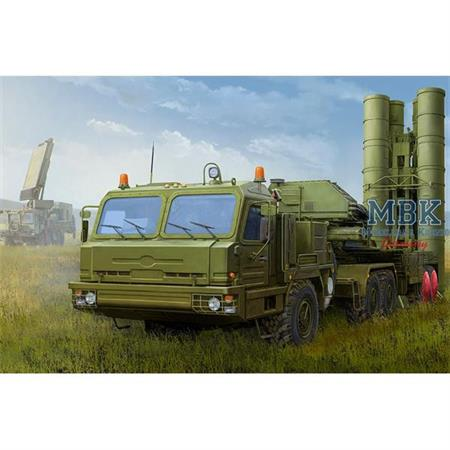 Russian BAZ-64022 with 5P85TE2 TEL S-400