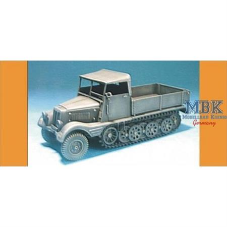 Sd. Kfz.11/1 with wood Cab Conversion