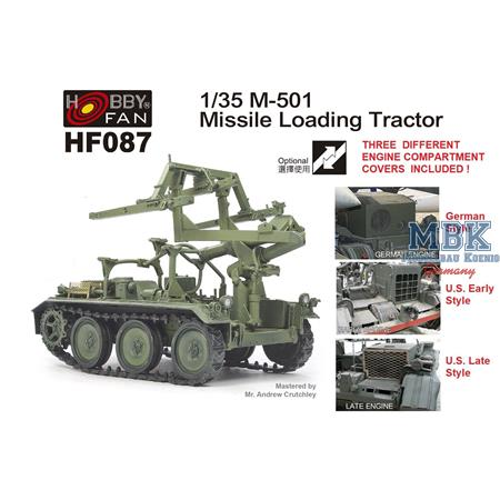 M501 Missile Loading Tractor